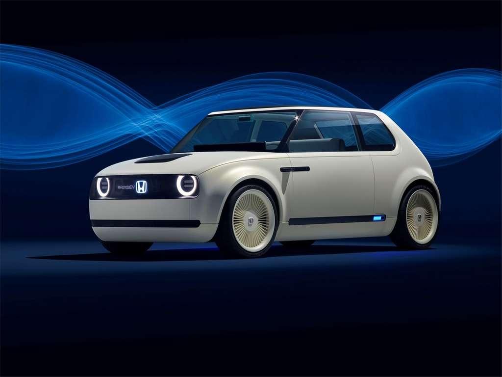 L'Urban EV de Honda débouchera sur un modèle commercial prévu pour 2019. © Honda