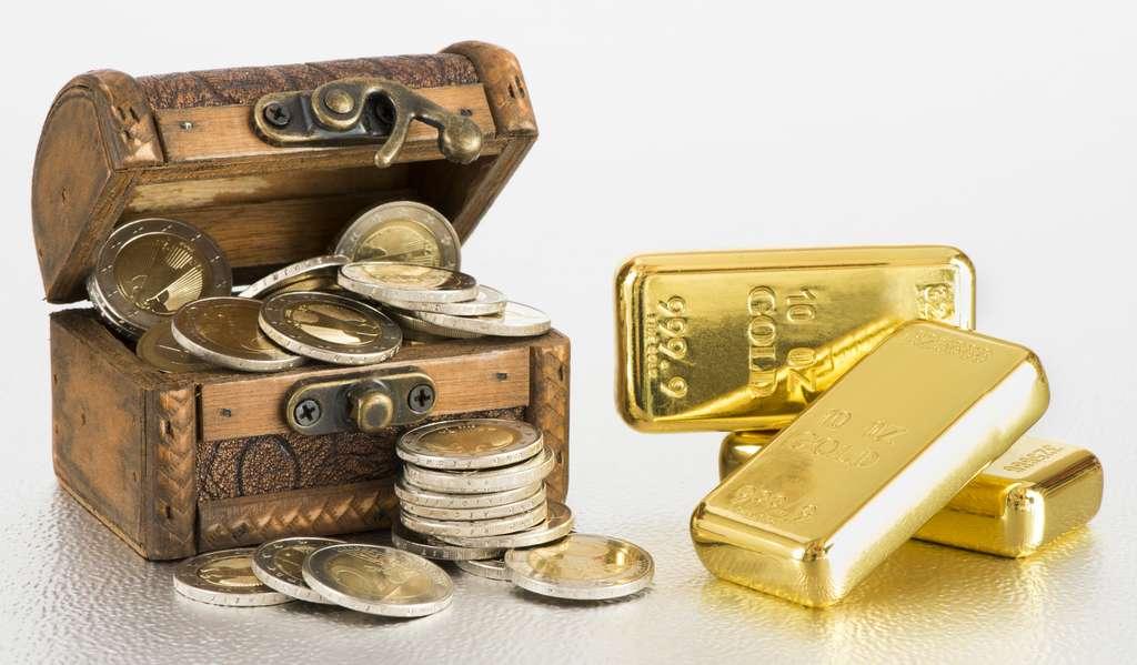 L'or prétendument retrouvé à bord du Dmitri Donskoï représenterait 10 % du poids de tout l'or extrait dans le monde... © Wolfilser - Fotolia.com