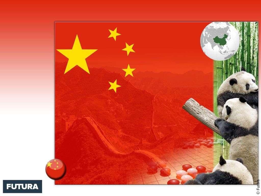 Drapeau : Chine