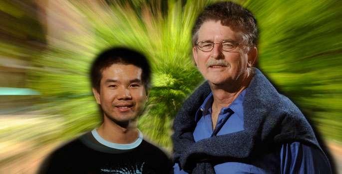 Thomas Weiler et Chui Man Ho. © John Russell-Vanderbilt