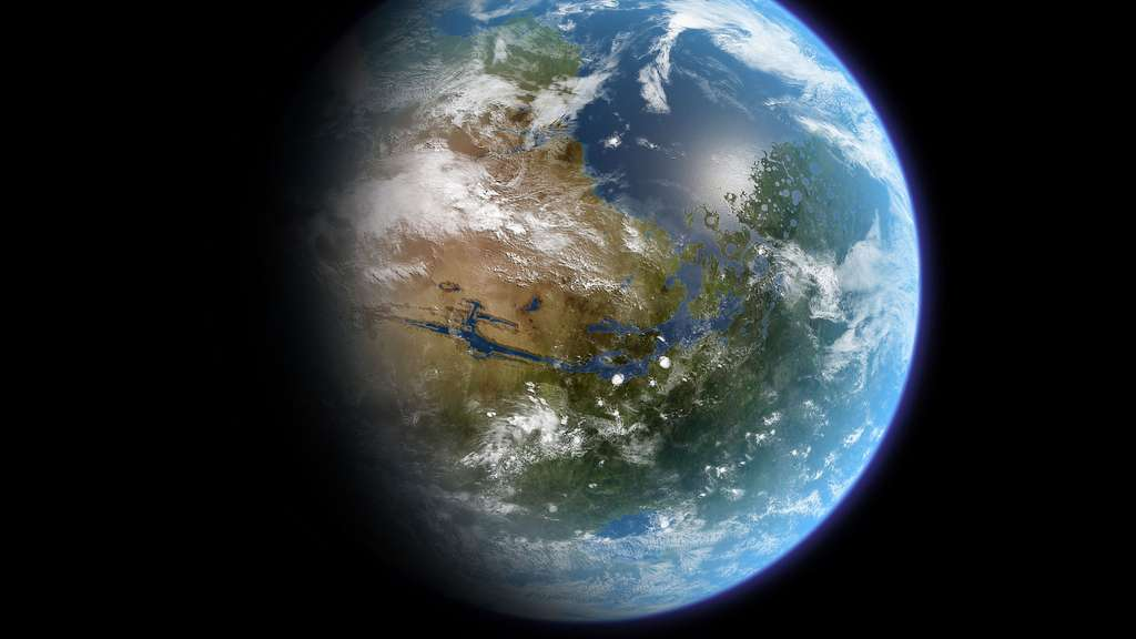 Mars terraformée