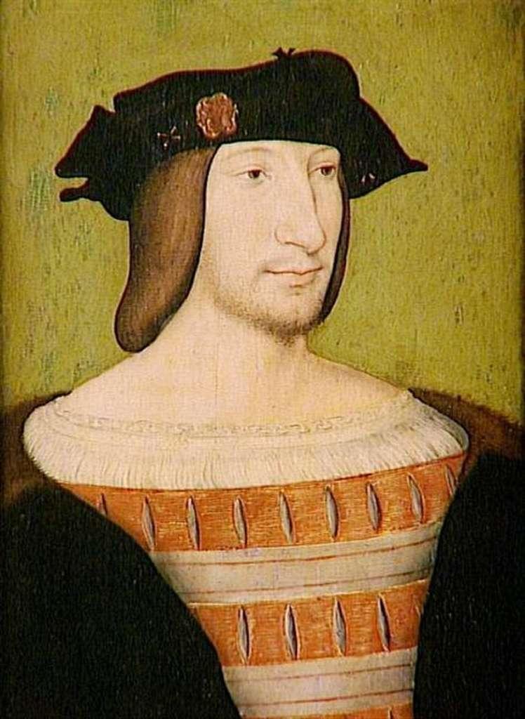 François Ier en 1515, peint par Jean Clouet. Musée Condé du château de Chantilly. © Wikimedia Commons, domaine public
