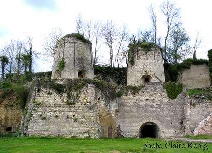 Four à chaux de Foussais-Payré en Vendée.