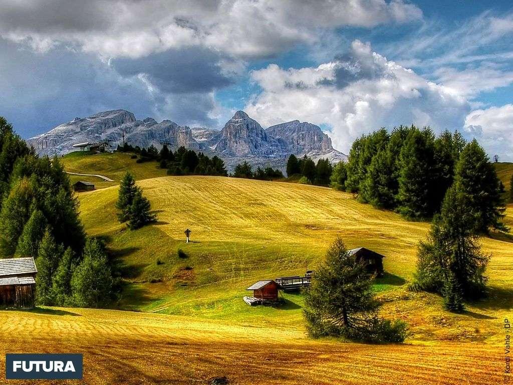 Dolomites, vers le Tyrol du sud