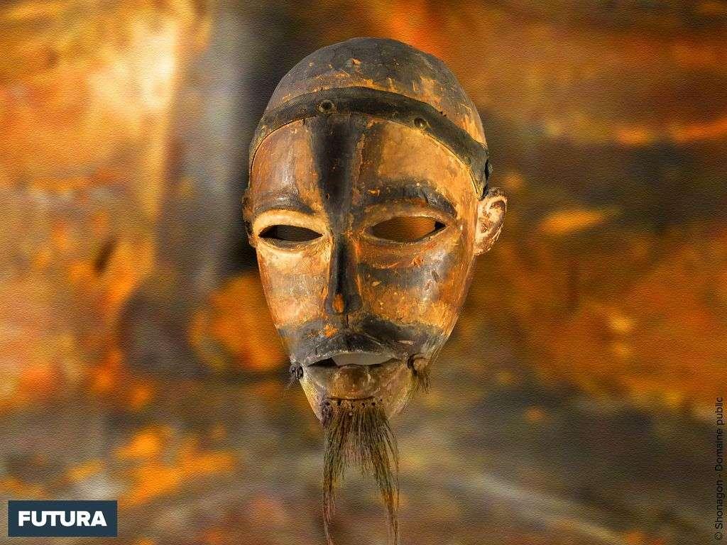 Masque africain du Congo