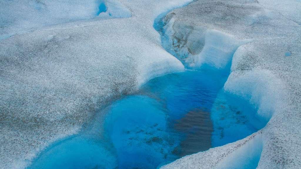 Champ de glace en Patagonie