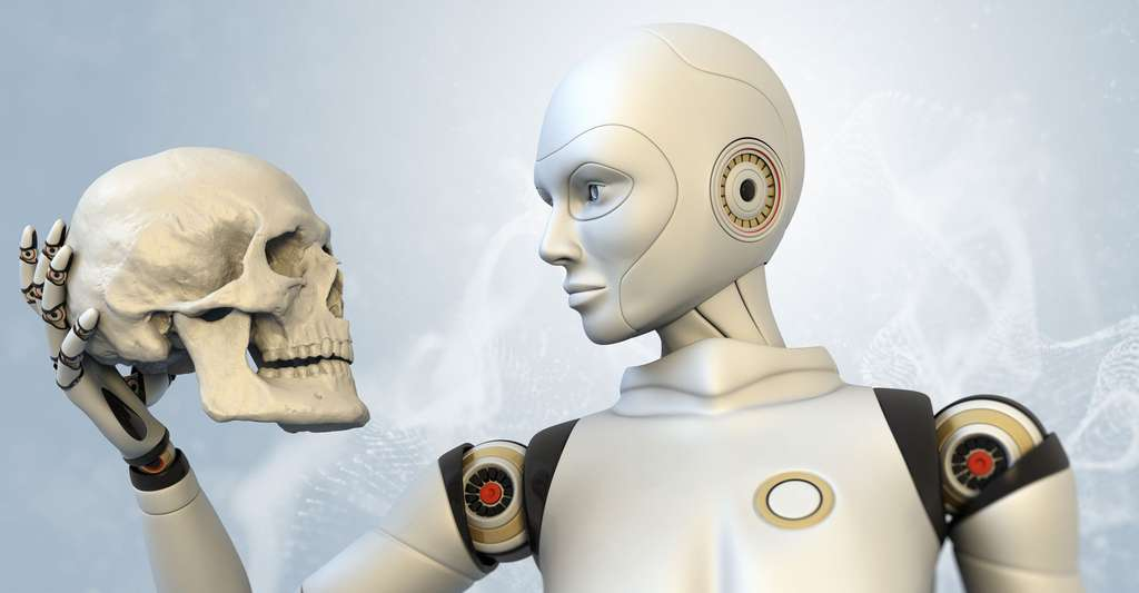 L'intelligence artificielle est un enjeu majeur. Ici, un cyborg. © Tatiana Shepeleva, Shutterstock