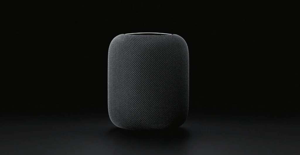 Le HomePod est centré sur l'univers Apple. © Apple