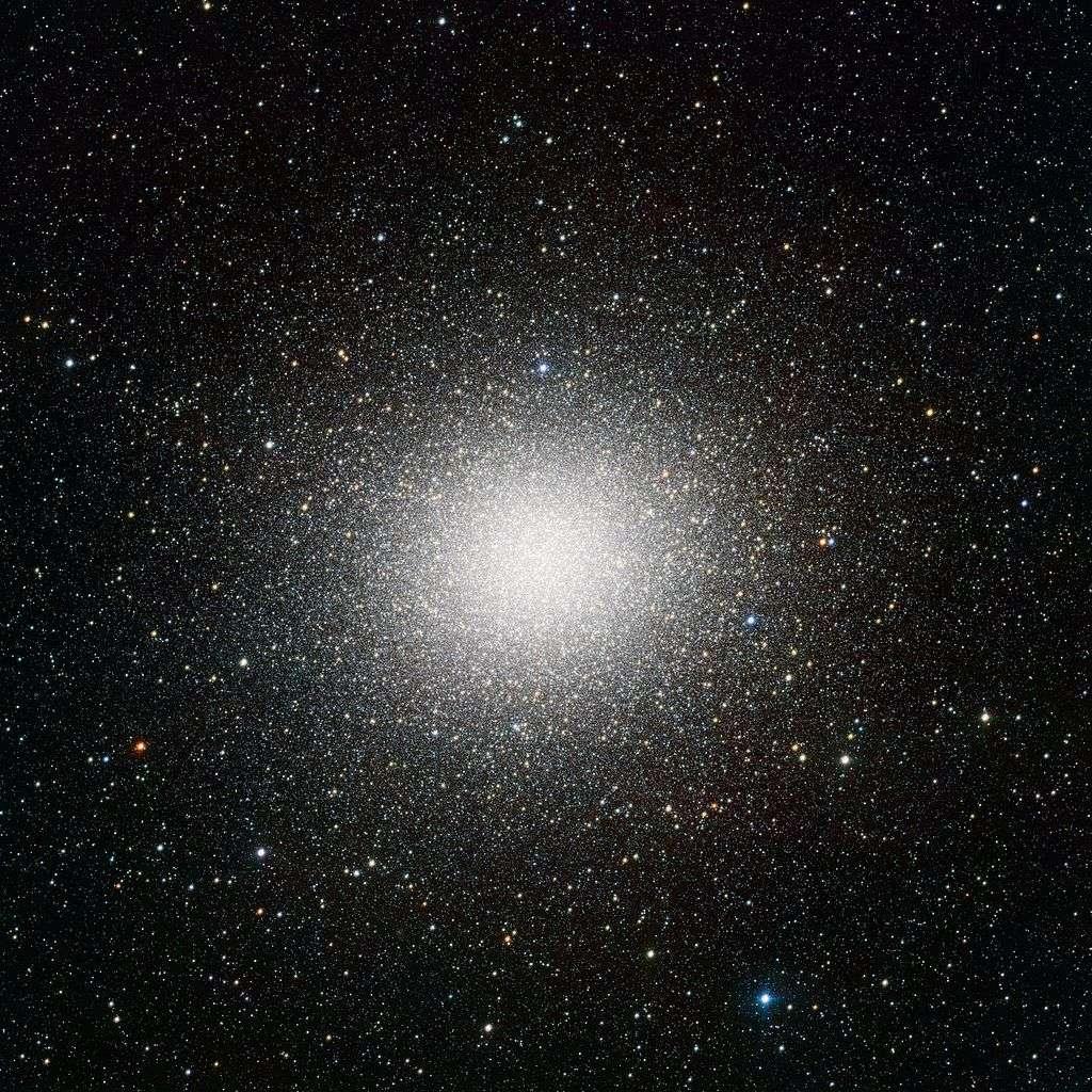 L'amas globulaire Omega Centauri vu depuis le VST de l'ESO1. © ESO/Inaf-VST/OmegaCAM, CC by-nc 4.0