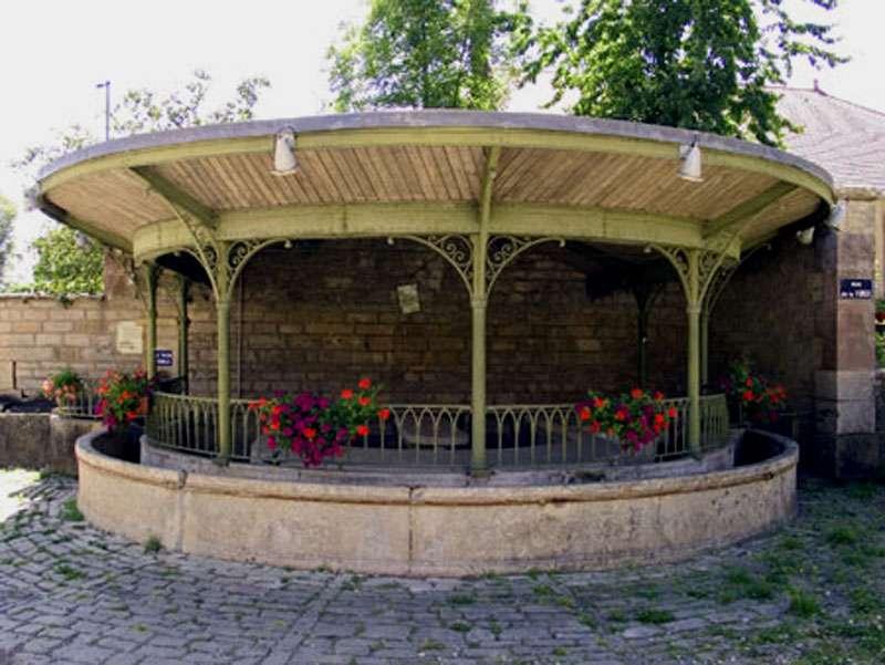 La fontaine de Moimay. © Communauté de communes de Villersexel, tous droits réservés
