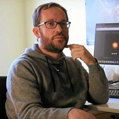 Le président de la Société Française d'Astronomie et d'Astrophysique (SF2A). © Société Française d'Astronomie et d'Astrophysique (SF2A), Eric Lagadec