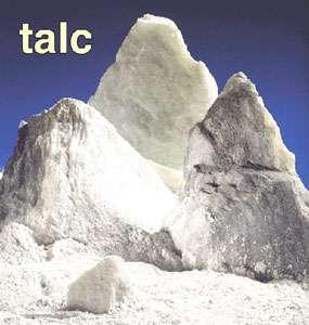 Talc Université de neuchatel, Suisse.