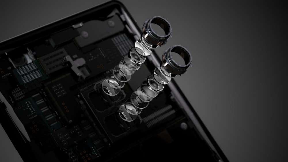 Spécialiste de la photo et du son, Sony lancera aussi un modèle 5G avec un écran dédié aux séries et aux films. © Sony