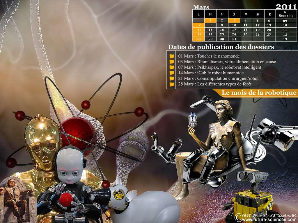 Calendrier Mars 2011
