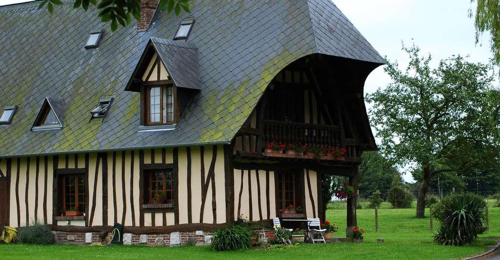 La maison normande à colombage