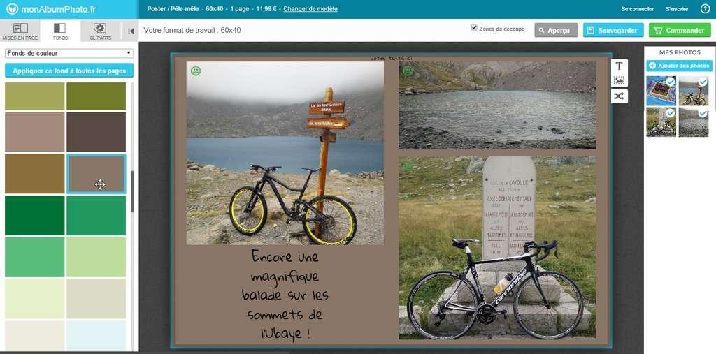 L'application Web est l'outil le plus couramment proposé. Mieux vaut cependant disposer d'une bonne connexion Internet pour le transfert des photos. © Futura