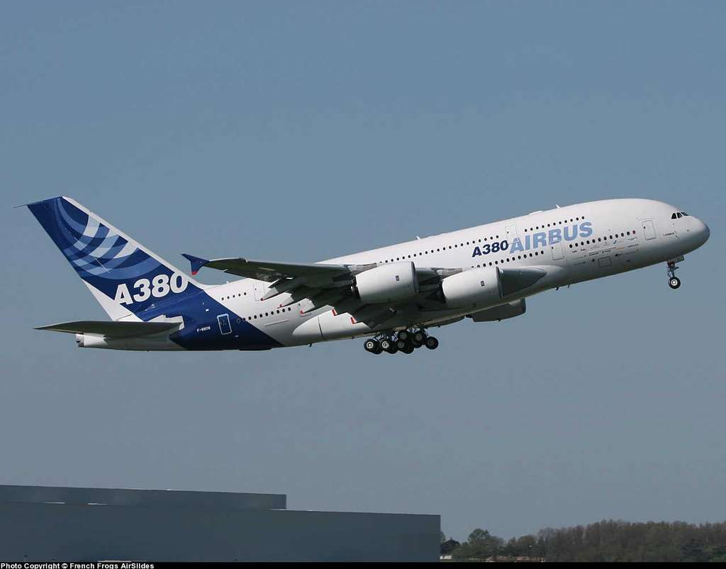 A380 : phase de décollage