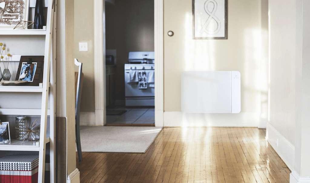 Le radiateur connecté à batterie Lancey. © Lancey