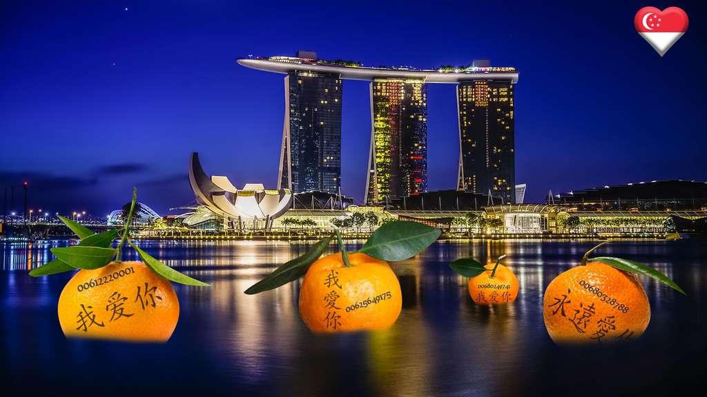 À Singapour, le rituel de la mandarine pour la Saint-Valentin