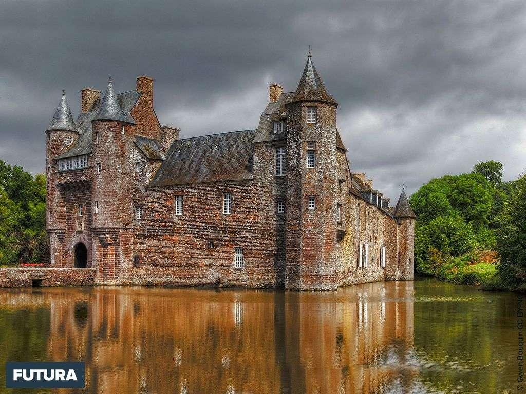 Le château médiéval de Trécesson, l'un des plus impressionnants de Bretagne