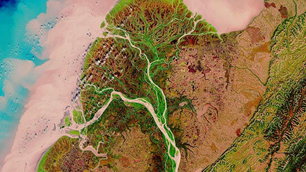 Le delta du Yukon-Kuskokwim en Alaska
