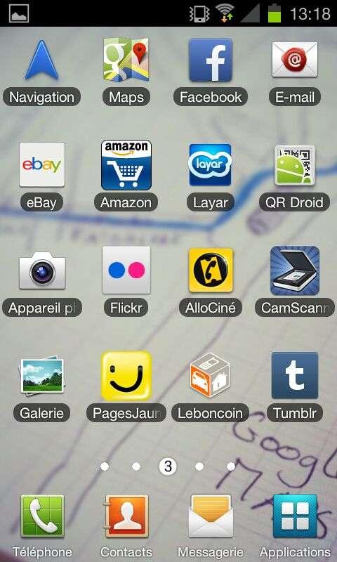 Il suffit de presser pour la première fois l'icône bleue dotée du logo Facebook pour que le numéro de téléphone de l'utilisateur soit immédiatement aspiré par les serveurs du réseau social. Pas besoin de se connecter ni même de disposer d'un compte Facebook. Le réseau social affirme avoir corrigé le souci dans le cadre d'une mise à jour de son application pour Android. © Antoine Decourt/Futura-Sciences