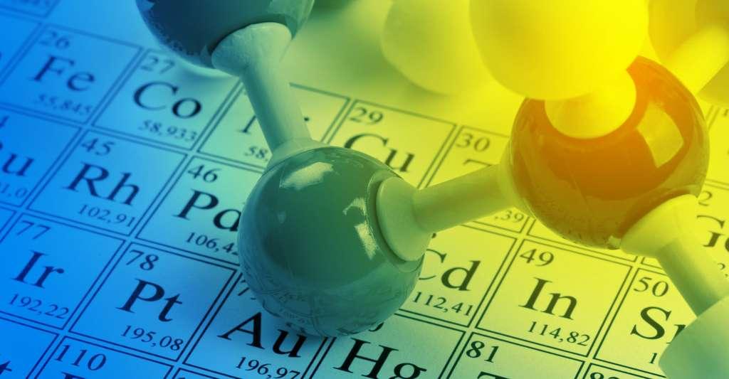 Le tableau périodique des éléments, c'est un peu à la chimie ce que les lettres sont à l'orthographe. On peut également le voir comme une mappemonde qui nous aide à nous orienter dans l'univers des éléments. © Shawn Hempel, Fotolia