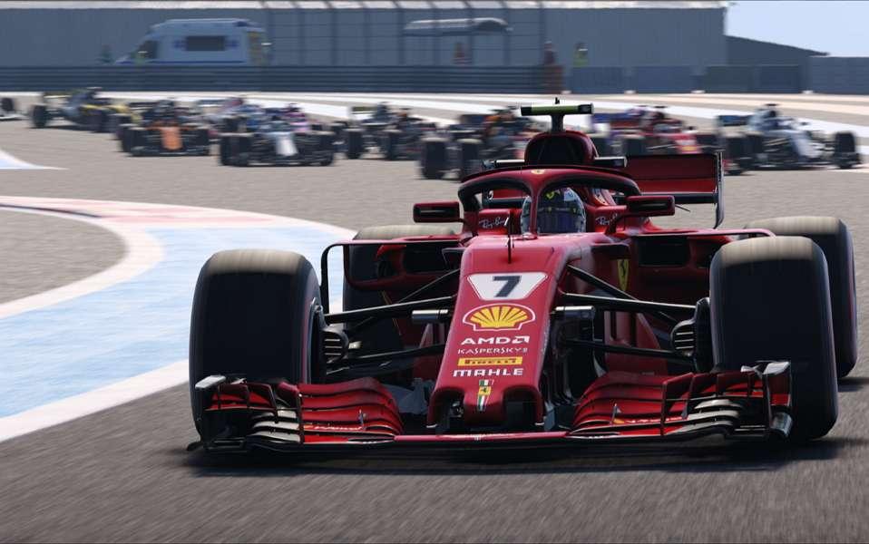 Le pilotage est très technique et exigeant sur F1 2018, mais les débutants peuvent activer des aides à la conduite. © Codemasters