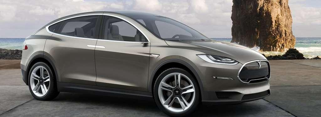 La gamme Tesla (ici la Model X), des véhicules de grand luxe, se vend plutôt bien outre-Atlantique et commence à arriver en Europe. © Tesla