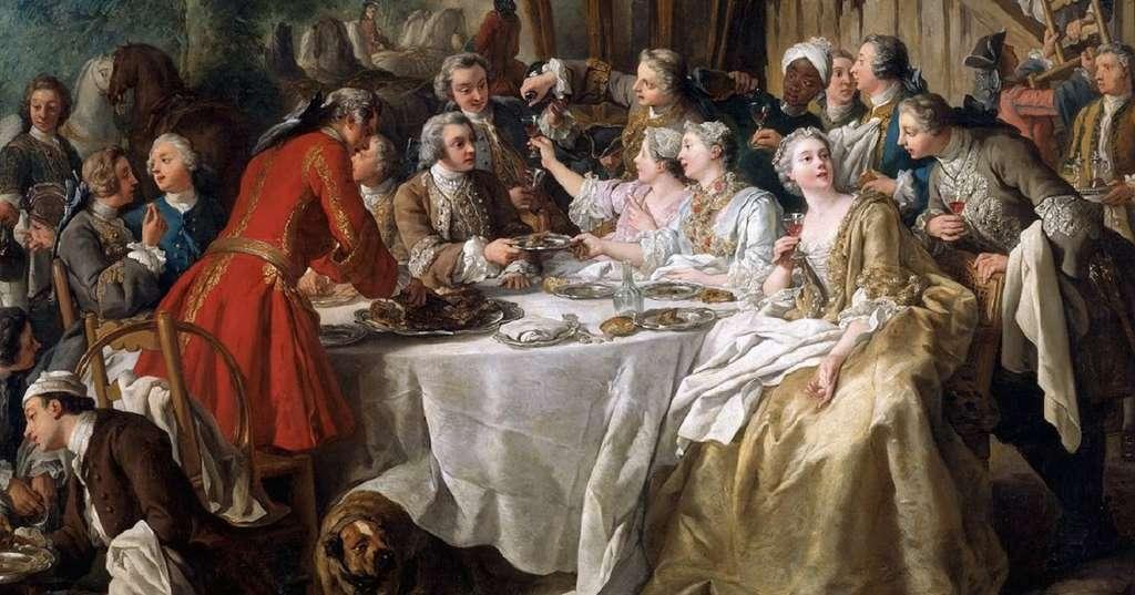 « Le déjeuner de chasse » par Jean-François de Troy en 1737. Musée du Louvre, Paris. © RMN-Grand Palais (musée du Louvre), Frank Raux