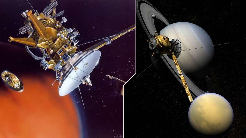 Cassini explore Saturne et ses mondes