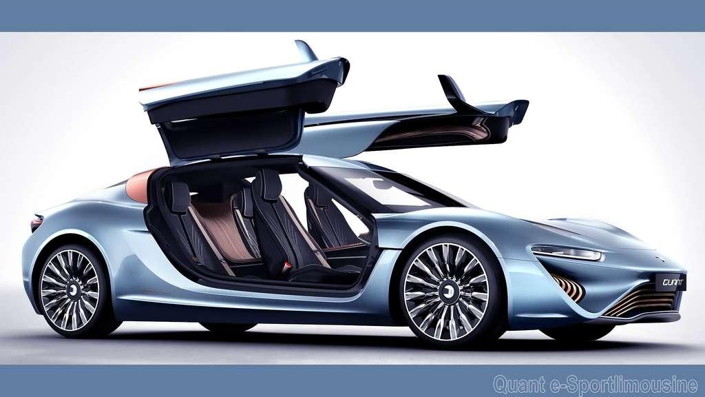 La Quant e-Sportlimousine, la voiture qui roule à l'eau salée