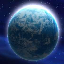 La planète Kamino. © Lucasflim Ltd