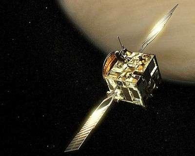 Venus Express. Crédit : Esa