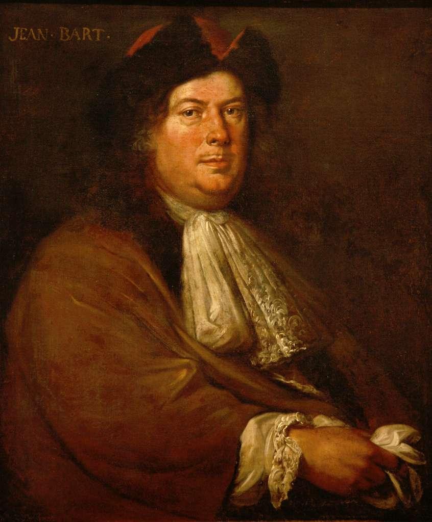 Portrait de Jean Bart par Mathieu Elias, fin XVIIe siècle. Musée national de la Marine, Paris. © Wikimedia Commons, domaine public.