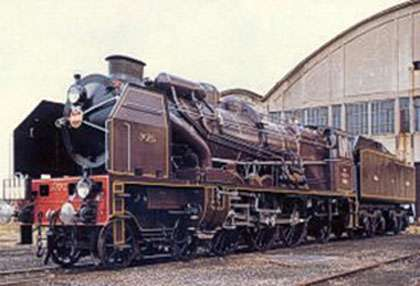 La locomotive Pacific 231.