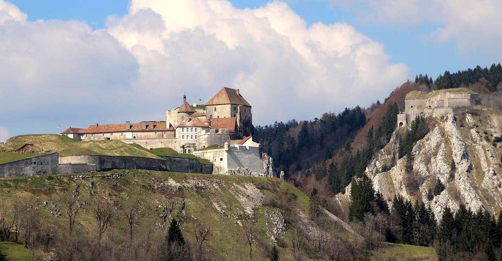 Château de Joux. © Adrian Michael, Wikimedia, GFDL