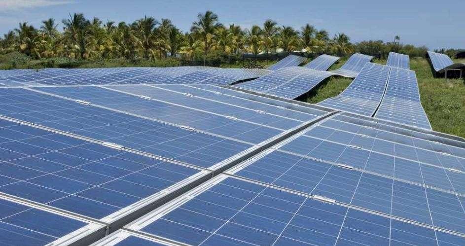 Sur l'île de La Réunion, le photovoltaïque au sol a appris à cohabiter avec les terres agricoles, rares et précieuses sur ce petit territoire. © Akuo Energy