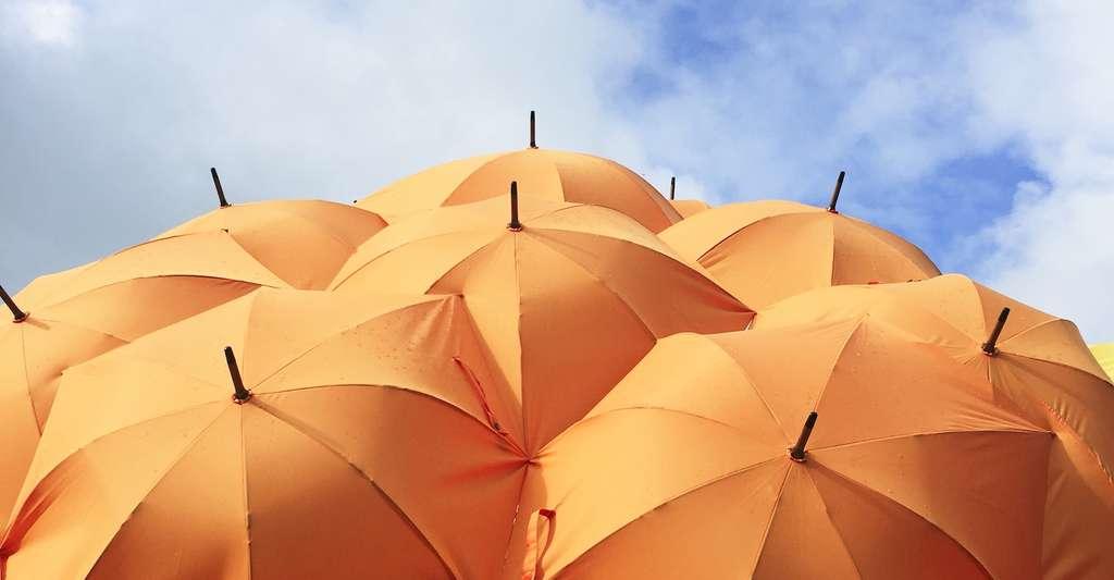 Parmi les idées un peu folles de la géoingénierie : mettre en orbite autour de la Terre des écrans qui pourraient jouer un rôle de parasols… © Catrin Johnson, Unsplash