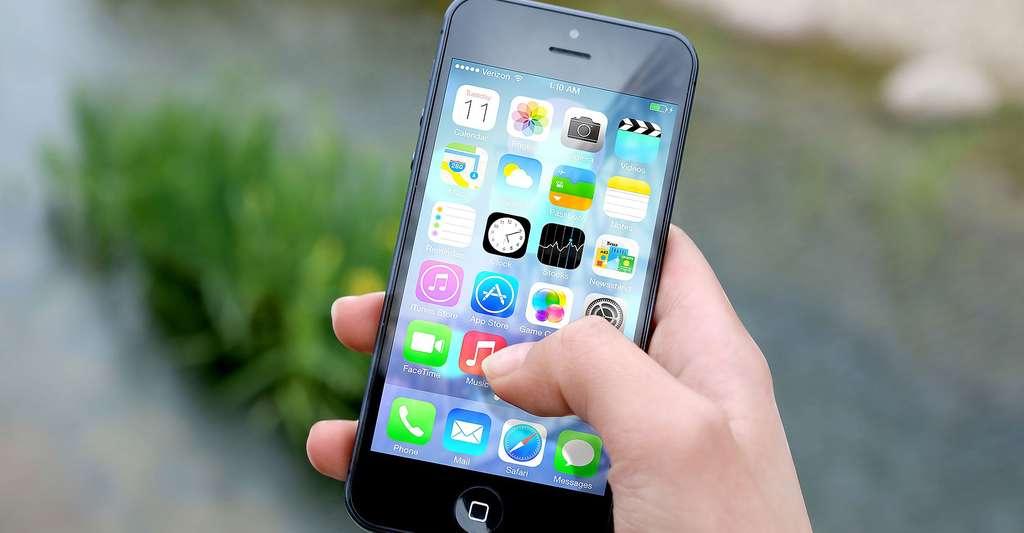 iOS d'Apple. © Jeshoots - Domaine public