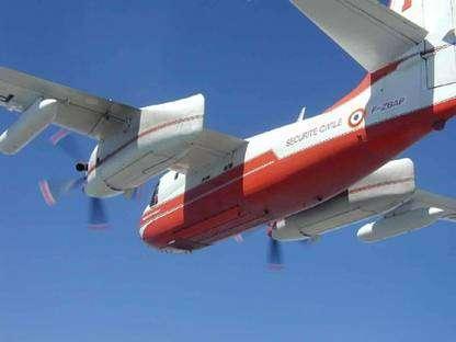 Le Firecat Turbo présente une envergure de 21,20 mètres. © Tracker-France - Tous droits de reproduction interdits