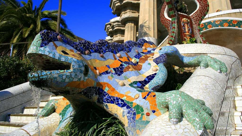 La mythique salamandre du parc Güell