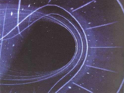La relativité générale offre une nouvelle vision de l'univers en matière d'espace-temps souple, tissé par la lumière et courbé par la matière. Photo extraite de Infiniment courbe, un film de Laure Delesalle, Marc Lachièze-Rey et Jean-Pierre Luminet. © CNRS Images, DR