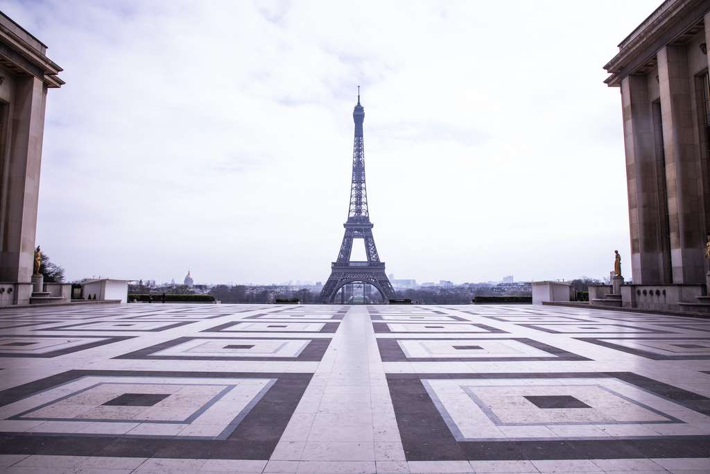 Paris durant le confinement du printemps. © Andreina, Adobe Stock