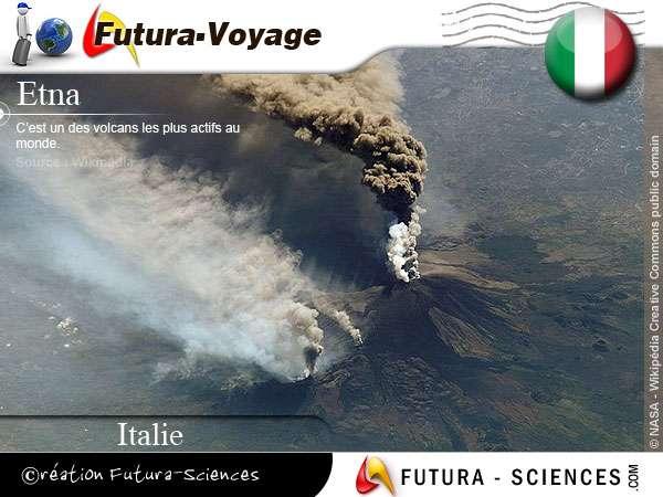 Volcan Etna - Italie