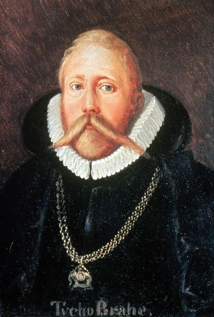 Ce tableau en couleur de Tycho Brahe révèle que son nez était peint de la couleur de la chair. © Wikimedia Commons, CC by-sa 4.0, Domaine public