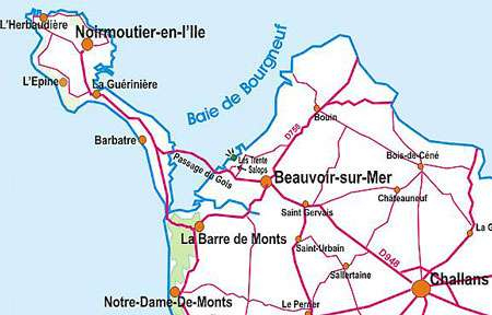 Plan de Baie Bourgneuf