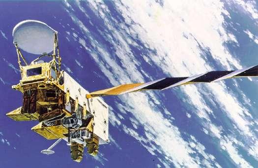 L'une des méthodes employées pour mesurer la concentration de vapeur d'eau a été d'utiliser le satellite météorologique polaire Aqua. © Nasa