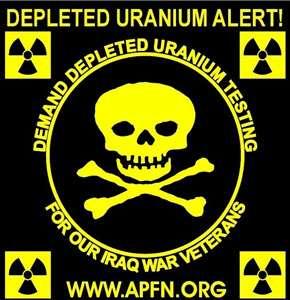 L'uranium appauvri est potentiellement chimiotoxique et radiotoxique. © DR