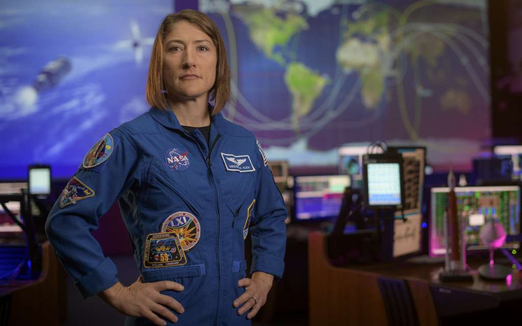 Christina Koch © Nasa